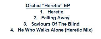 orchidheretictracklist