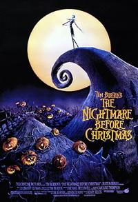 1993 The nightmare before christmas