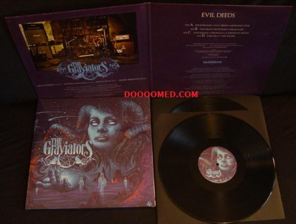 the graviators evil deeds 2lp vinyl