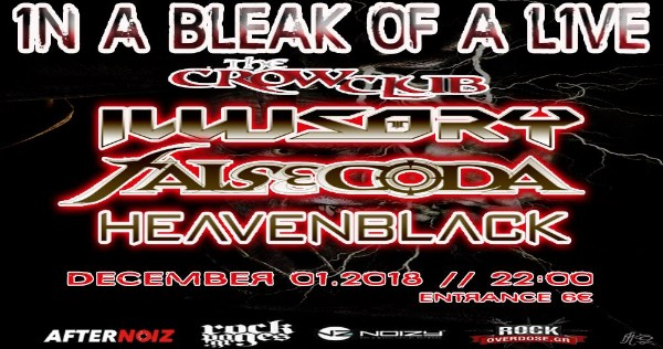 In A Bleak Of A Live - Illusory / False Coda / Heavenblack