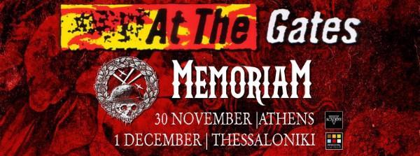 Αt the gates / Unleashed / Memoriam live in Athens