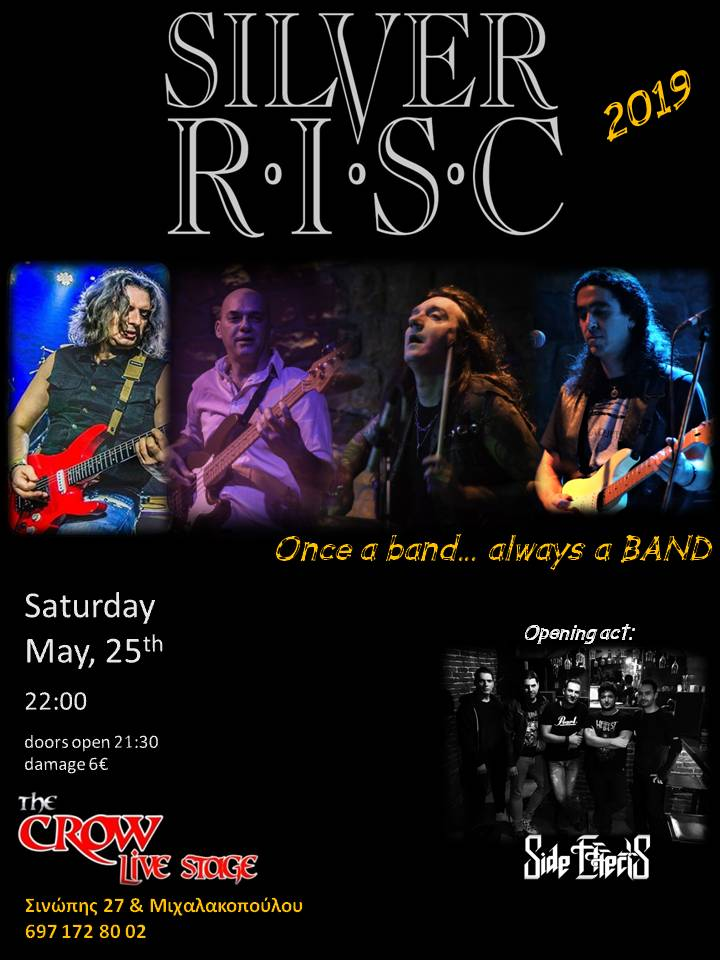 Silver RISC Live at the CROW