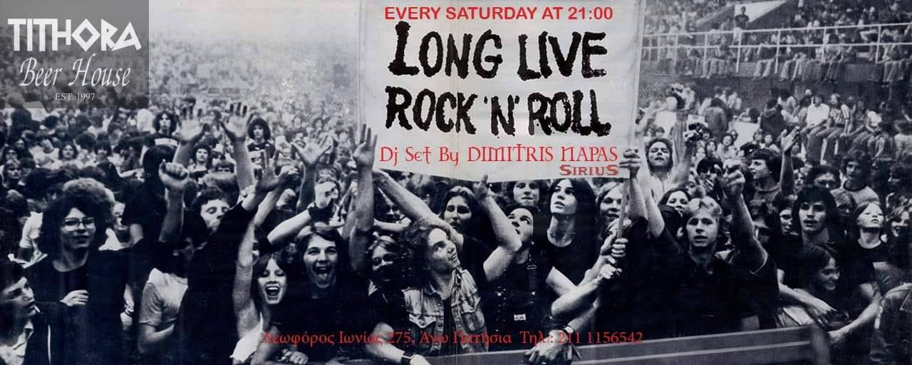 Long Live R'n'R Every Saturday at Tithora Beer House!